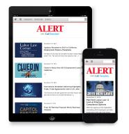CalChamber Alert App