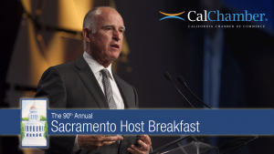 California Governor Brown Remarks at 90th Annual Sacramento Host Breakfast