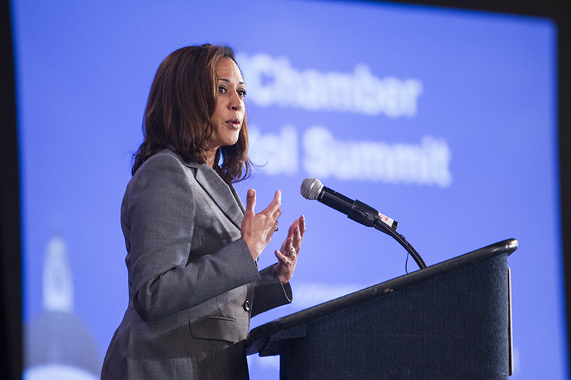 California Attorney General Kamala D. Harris