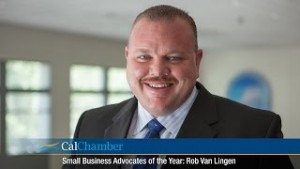 Small Business Advocate of the Year - Rob Van Lingen