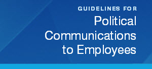 political communications to employees