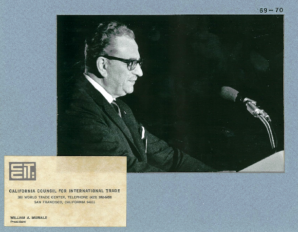 William A. Muriale, CCIT Chair 1969 - 1970