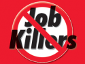 Two Job Killers Imposing Targeted Taxes Stalled