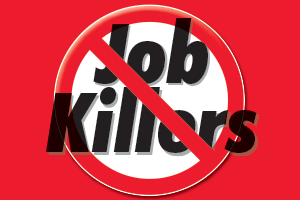Job Killer Bill Grants Unemployment Benefits to Striking Workers