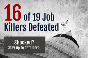CalChamber Stops 16 Job Killer Bills