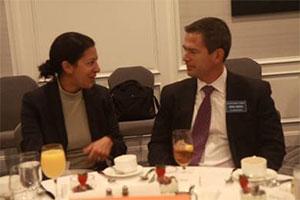 Priya Guha and Mark Jansen
