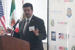 Mtro. Leonardo Beltrán Rodríguez, undersecretary of planning and energy transition for the Mexico Ministry of Energy