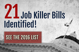 CalChamber Identifies 21st Job Killer