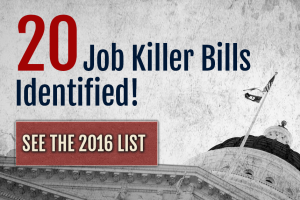 CalChamber Identifies 20th Job Killer Bill