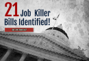 Job Killer Update: CalChamber Identifies 21st Job Killer