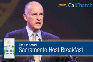 Governor Brown Remarks at 91st Annual Host Breakfast