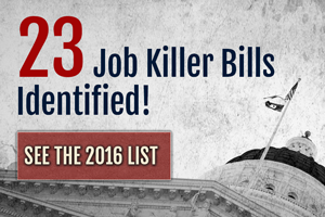 Job Killer Bill on Assembly Floor