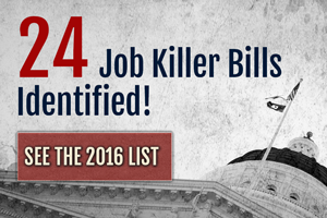 Job Killer Update: CalChamber Identifies Two More Bills