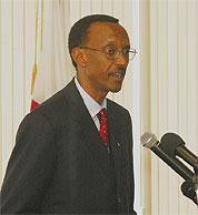 His Excellency Paul Kagame, President of Rwanda