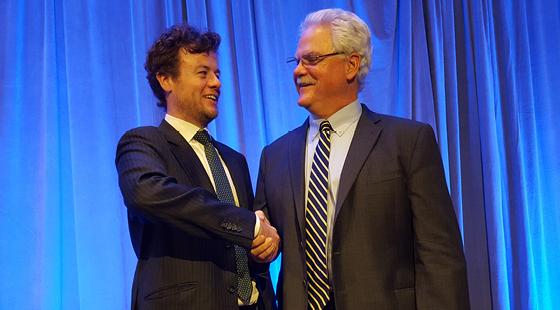 Irish Ambassador Salutes 2016 CalChamber Chair Mike Murphy