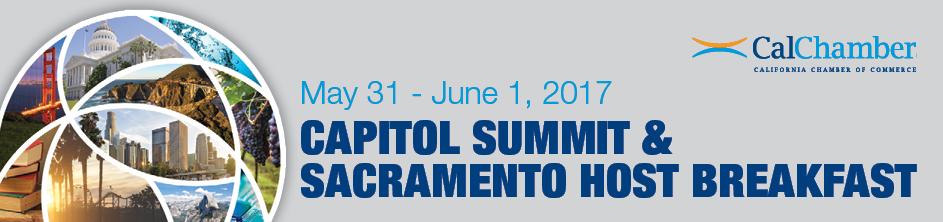 2017 Capitol Summit and Sacramento Host Breakfast