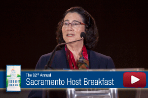 Video: Susan Corrales-Diaz Remarks at 92nd Annual Sacramento Host Breakfast