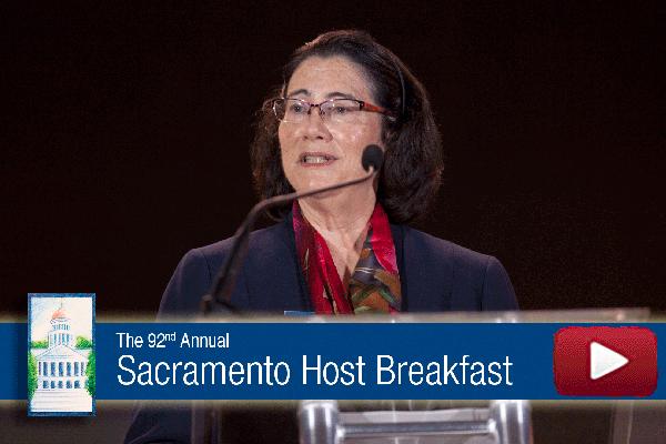 2017 Host Breakfast Remarks - CalChamber Chair