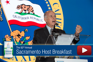 Video: Governor Brown Remarks at 92nd Annual Host Breakfast