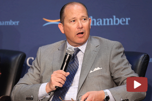 Mike Villines Moderates the CalChamber Capitol Summit Policy Issues Panel Session