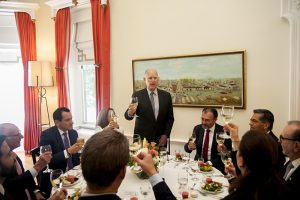 CalChamber Partner in Governor's Lunch for Mexico Secretary of Foreign Affairs