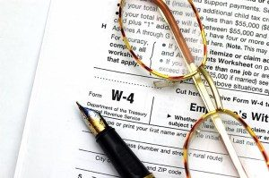 2018 Tax Withholding Information Is Here — W-4 Update Coming Soon