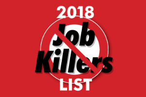 Services Tax Job Killer Bill in Committee Today