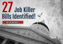 Job Killer Update: CalChamber Identifies Three Additional Bills