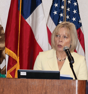 U.S. Ambassador to Chile, Carol Perez