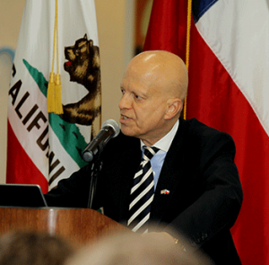 Consul General of Chile in San Francisco, Enrique Barriga
