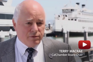 Video: CalChamber Chair Terry MacRae