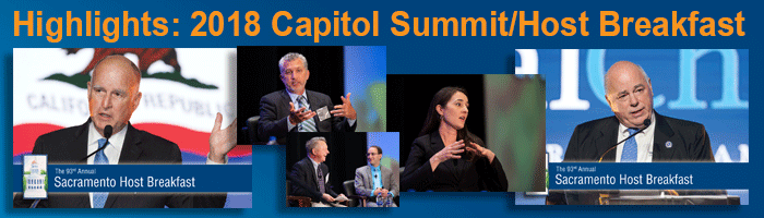 2018 Capitol Summit and Host Breakfast Highlights