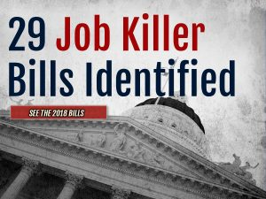 Governor Vetoes Last CalChamber Identified Job Killer Bill of 2017-2018 Legislative Session