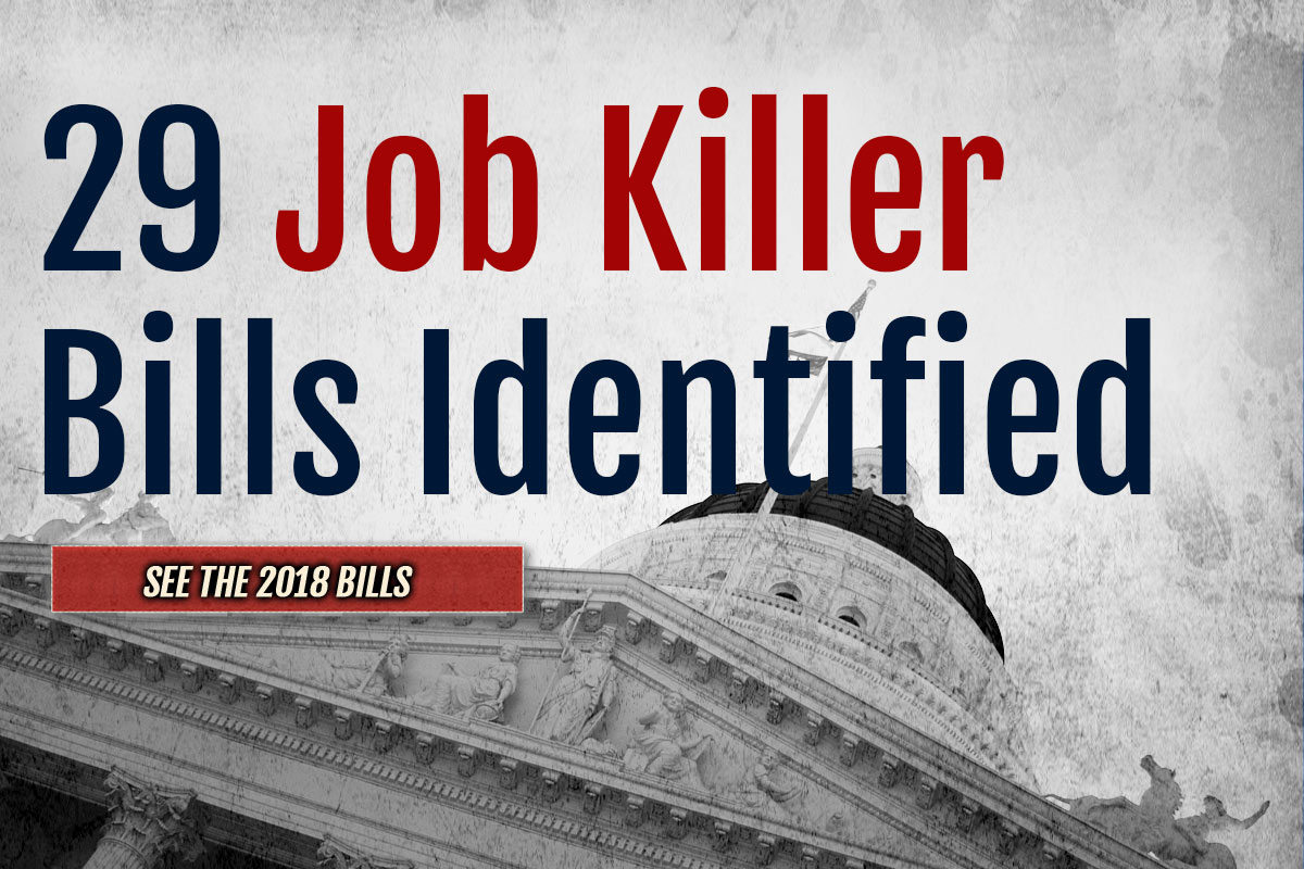 Job Killer Update: 29th Bill Will Increase California Energy Costs