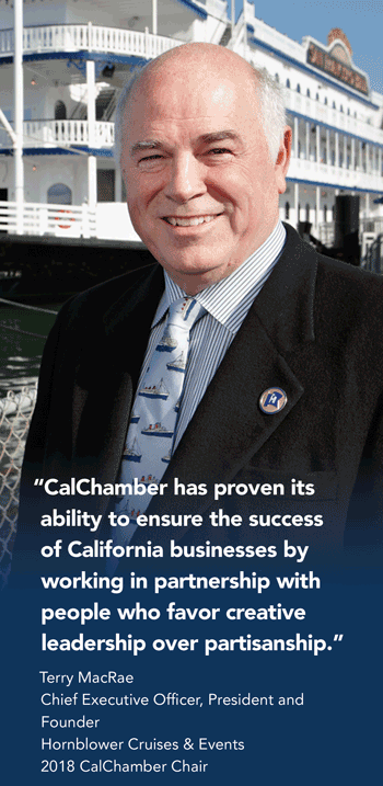 Terry MacRae, CalChamber Executive Member