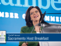 Solving California Challenges Requires Collaboration – Grace Evans Cherashore at Sacramento Host Breakfast