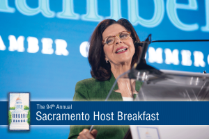 Solving California Challenges Requires Collaboration - Grace Evans Cherashore at Sacramento Host Breakfast