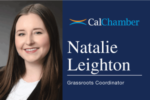 CalChamber Names Retail Marketing Specialist as Grassroots Coordinator