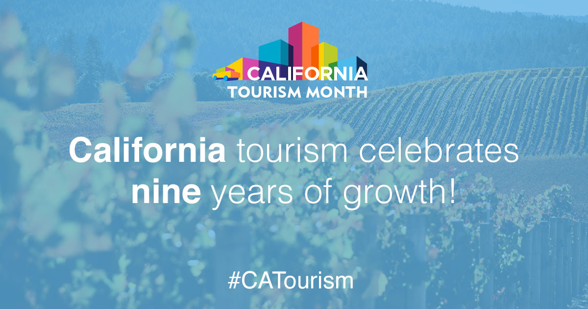 California Tourism Month