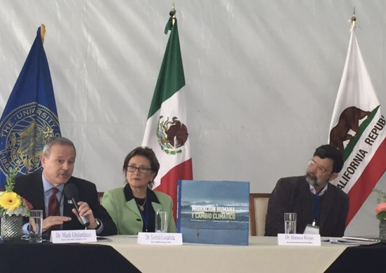 Cal OES Director Mark Ghilarducci heads a panel with Dr. Xochitl Castaneda