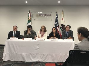 Panel at the Mexican Ministry of Economy