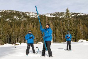 State Begins Year with Good Sierra Snowpack