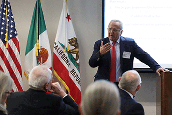 Dr. Jesús Seade, Undersecretary for North America from Mexico's Ministry of Foreign Affairs