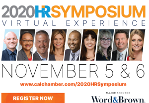 Register Today for HR Symposium:  Nov. 5 Virtual Event to Cover COVID-19 Issues, New Laws, Workers' Comp Presumptions