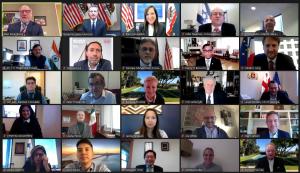 CalChamber Hosts Virtual Event for International Representatives with Governor Newsom and Lt. Governor Kounalakis