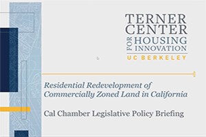 Policy Briefing - California's Pathway to More Housing