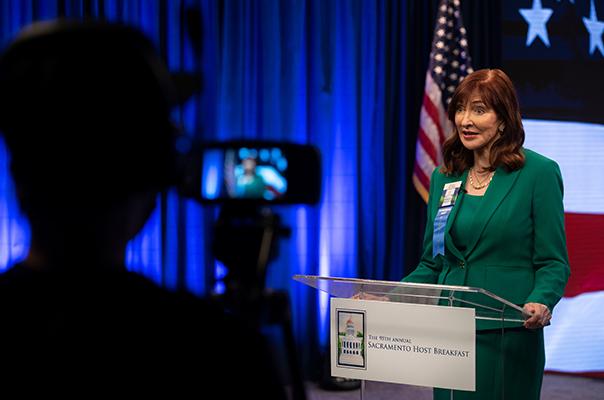 Sacramento Host Committee Chair Susan Savage