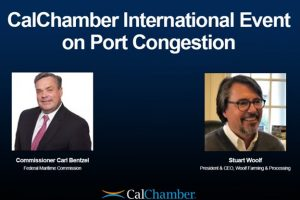 Commissioner Carl Bentzel Discusses State of US Ports at International Forum