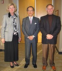 New Consul General Yasumasa Nagamine representing Japan in San Francisco and Northern California visited the California Chamber of Commerce