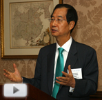 His Excellency Duk-Soo Han, ambassador to the United States from the Republic of Korea